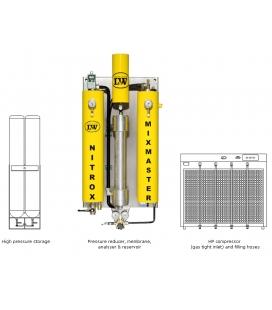 LW Nitrox Membrane Systems - Mixmaster HP
