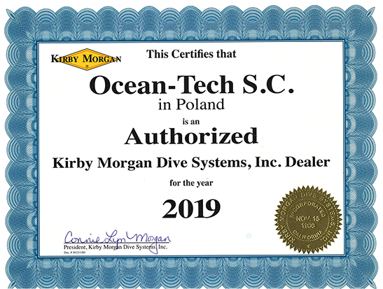Kirby Morgan Certifies