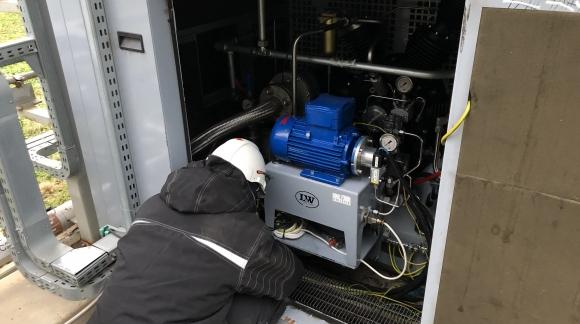 Kompresor LW1300 EH2 VD2 udany przegląd