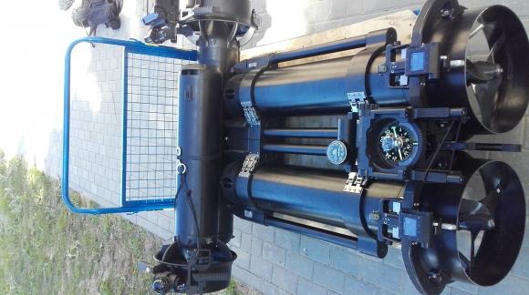 Testy skuterów podwodnych SUEX - wersja militarna